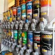 Kit Dispenser de Ração Grande Duplo (10 x 40 L) - Plast Pet