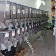 Kit Dispenser para Ração 5 x 40 Litros