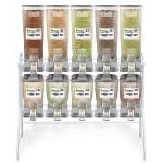 Kit Dispenser de Ração Misto Duplo (5 x 18 L + 5 x 40 L)