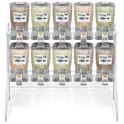 Kit Dispenser de Ração Pequeno Duplo (10 x 18 L) - Plast Pet