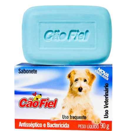 Sabonete Antisseptico e Bactericida Cão Fiel 90g